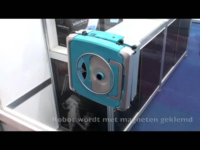 Japon İcadı Cam Silme Robotu